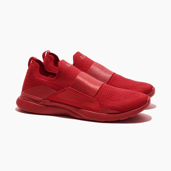 APL Shoes   Apl Techloom Bliss All Red